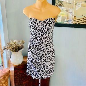 EXPRESS leopard print dress! Like new!